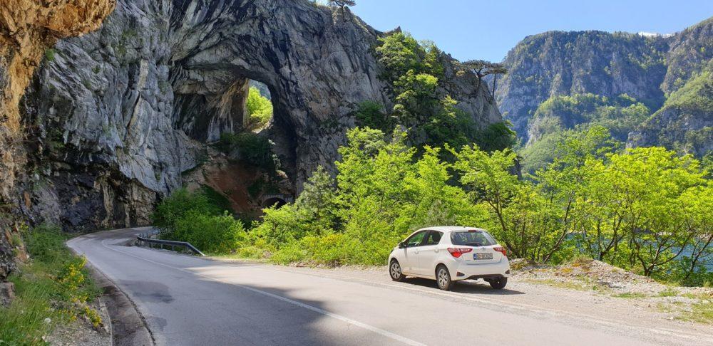 Черногория дороги