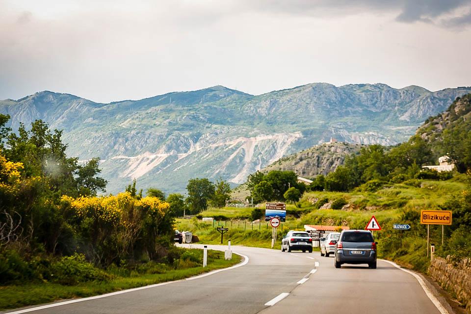 Движение в Черногории