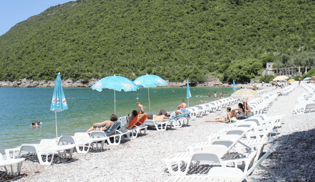 Пляж Жаница